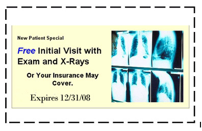 Free Initial Visit With Exam & Xrays